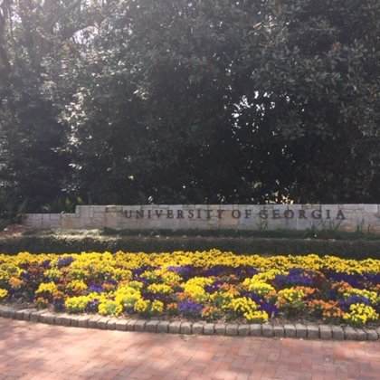 Welcome to The University of Georgia!